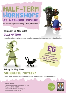 Workshops Watford Museum May 09
