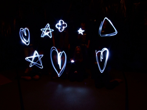 Animated Light Graffiti